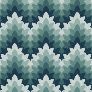 leafy zigzag : alpine
