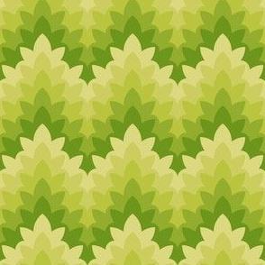 leafy zigzag : apple dapple