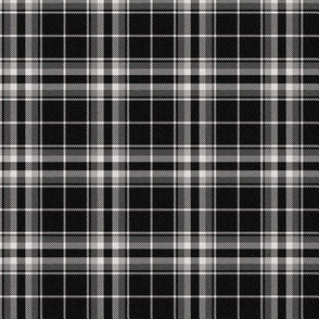 Black-White Plaid