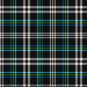 Blues and Green Plaid