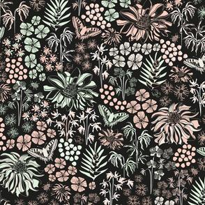 Tropical Botanical (limited palette)