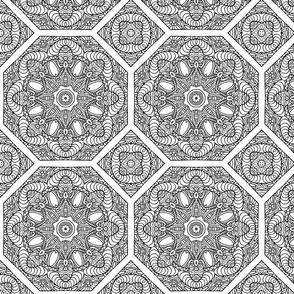 Mandala Tile