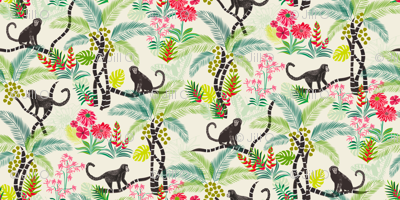 Tropical Monkeys (small scale)