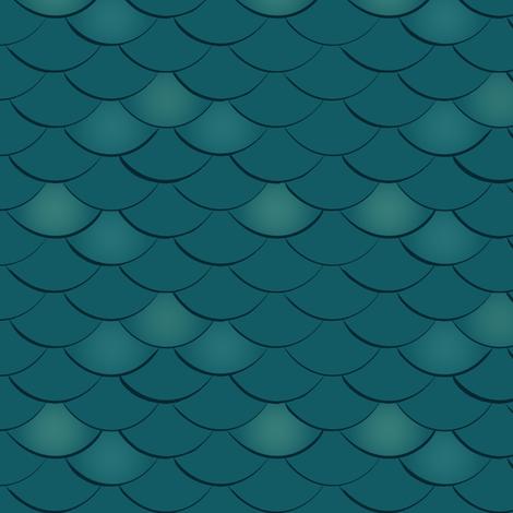 mermaid scales fabric by jennifer_todd on Spoonflower - custom fabric