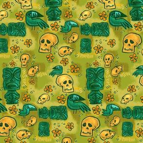 tiki beware green