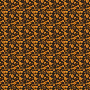 Leaves-Orange-Brown
