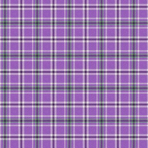 Dark Purple and Green Plaid