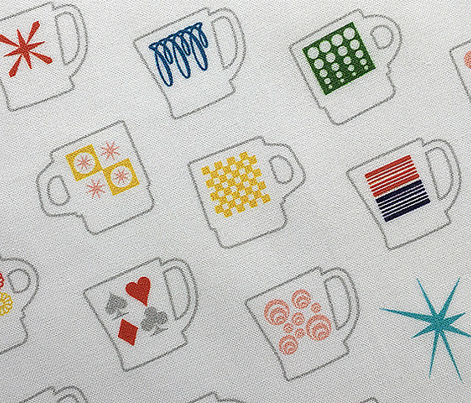 King of Cups* || vintage coffee mugs retro kitchen geometric fire king milk glass midcentury modern atomic