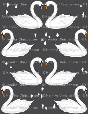 SwanFabricNEWCharcoal