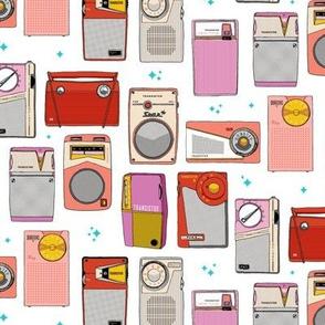 Radio Star* || midcentury modern atomic vintage retro transistor radios music stars