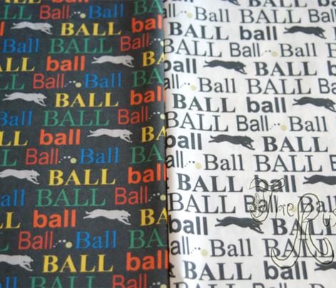 Ball! - black/white vertical