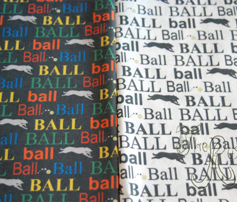 Ball! - colorful vertical