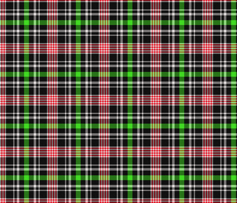 Green, Red and Black Plaid fabric by jandq0306 on Spoonflower - custom fabric