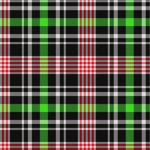 Green, Red and Black Plaid