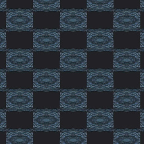 Modern Geometry Stormy sea checkers