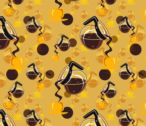 coffee dreams fabric by hannafate on Spoonflower - custom fabric