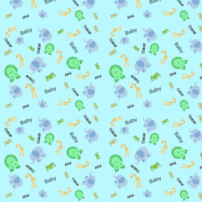Baby Elephant walk Oskar 