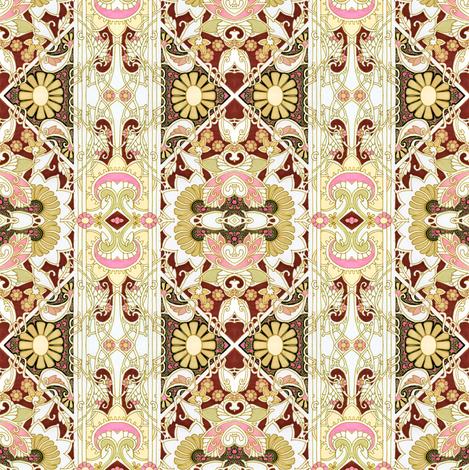 Formal With a Half Twist fabric by edsel2084 on Spoonflower - custom fabric