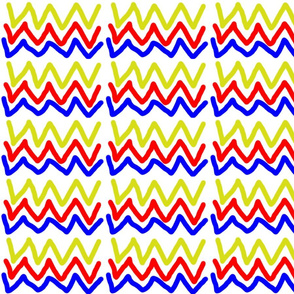 Squiggly Primary Lines