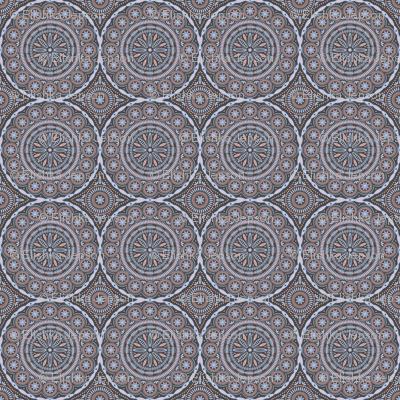Southern Circles (Rose Quartz and Serentiy)