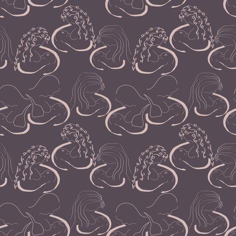 breastfeeding fabric by pamelachi on Spoonflower - custom fabric