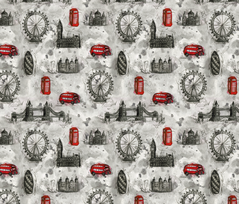 London Ink fabric by jaana on Spoonflower - custom fabric
