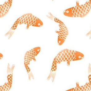 Goldfish gold fish orange fish koi fish