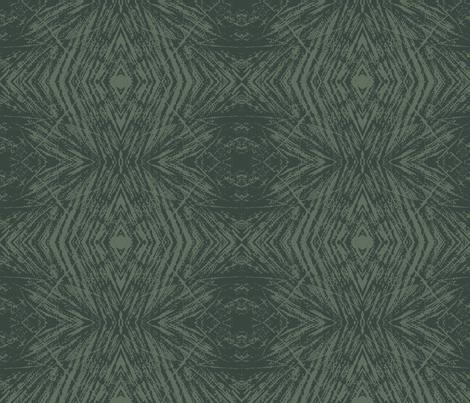 Lovely Log (Dark Green & Green) fabric by belovedsycamore on Spoonflower - custom fabric