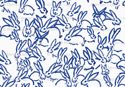 Blue bunnies bunny rabbits