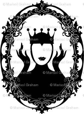 Evil_Queen_oval_frame_swirly