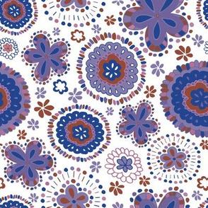 Organic Medallions-Purple