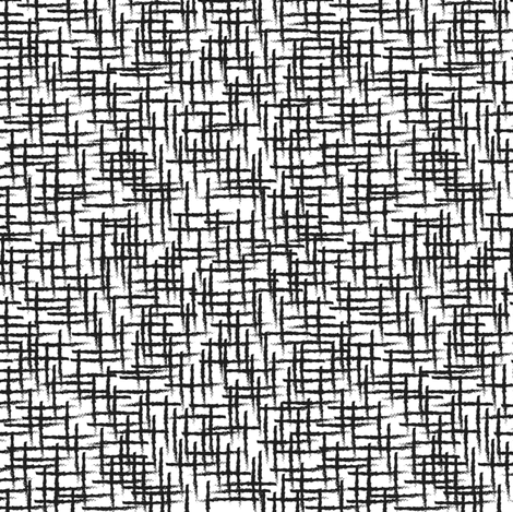 Grid // black and white fabric by littlearrowdesign on Spoonflower - custom fabric