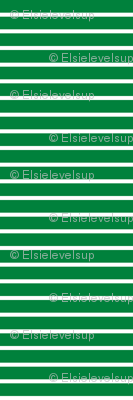 Stripes - Horizontal - Dark Green (#00813C) 0.4 inch stripes with White (FFFFFF) 0.1 inch stripes