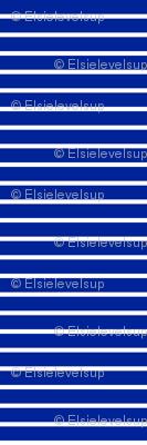 Stripes - Horizontal - Dark Blue (#002398) 0.4 inch stripes with White (FFFFFF) 0.1 inch stripes