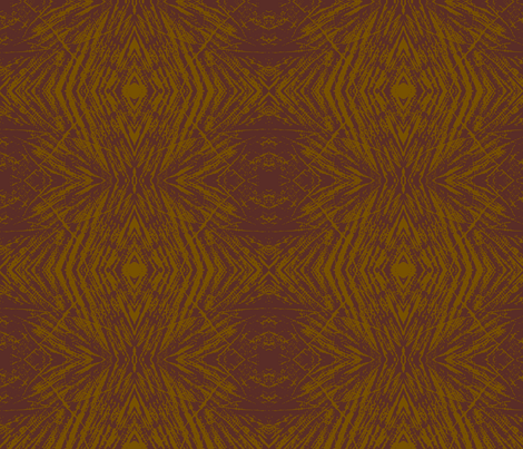 Lovely Log (Red Brown & Light Brown) fabric by belovedsycamore on Spoonflower - custom fabric