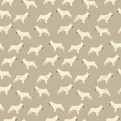 French Bulldog in Taupe