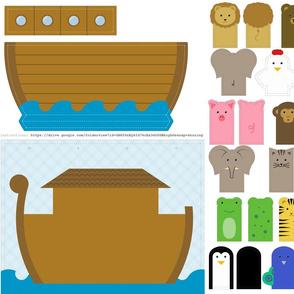 Noah's ark friends