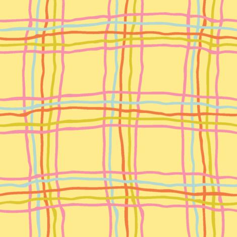 Sprint tartan - large fabric by strange_phenomena on Spoonflower - custom fabric