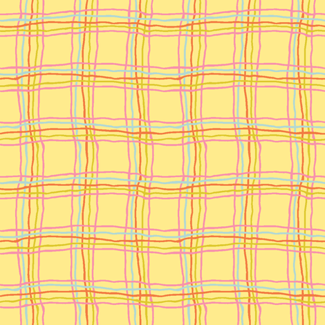 Spring tartan - small fabric by strange_phenomena on Spoonflower - custom fabric