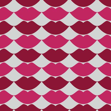 Mwah fabric by anniecdesigns on Spoonflower - custom fabric