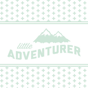 Little Adventurer (mint) // cross