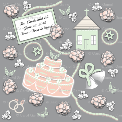 Going to the Chapel - Custom Gift Wrap