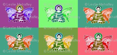 andy_warhol Buddha-fly