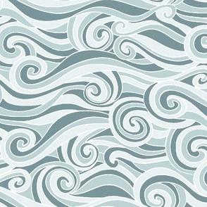 Ocean Waves Storm