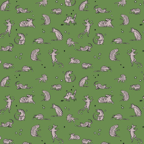 Green Kittens