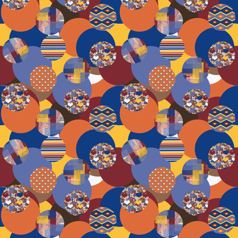 Bouncy Balls fabric by anniedeb on Spoonflower - custom fabric
