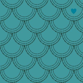 Suomu turquoise