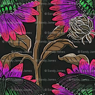 sfsunflowerbutterfly00012345