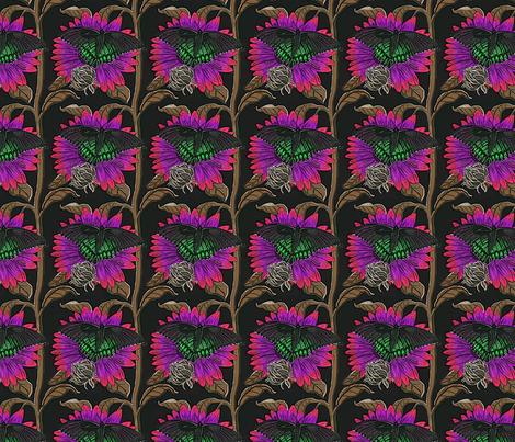 sfsunflowerbutterfly00012345 fabric by leroyj on Spoonflower - custom fabric