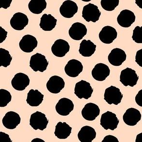 Spots on blush